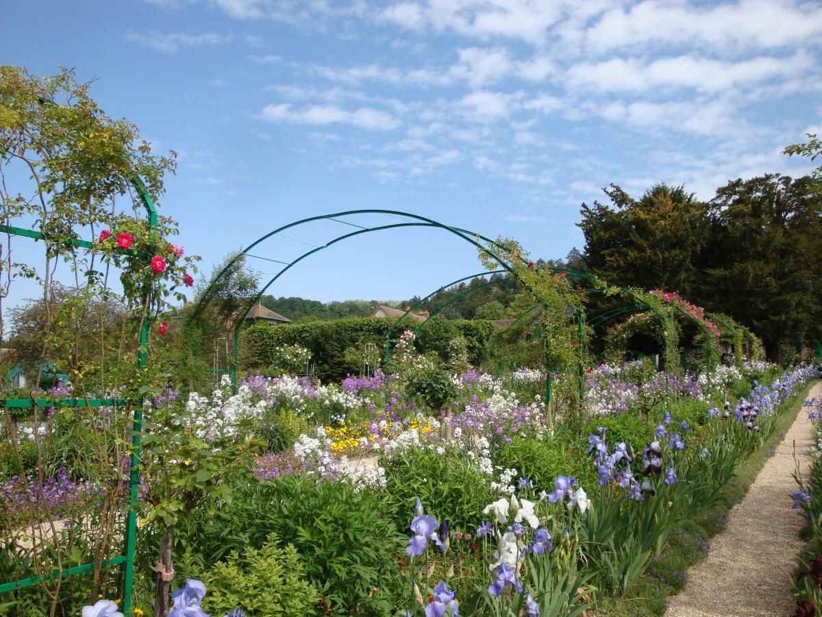 Giverny: des fleurs (et des visiteurs) à profusion
