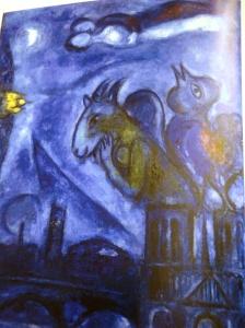 Monstre de Notre Dame - Chagall