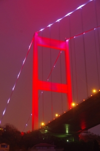 Pont rouge Istanbul