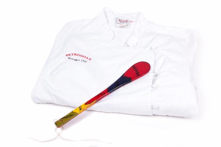 -®Lorenzo-Le don de  Rougui Dia- La veste de chef cuisinier de chez Petrossian