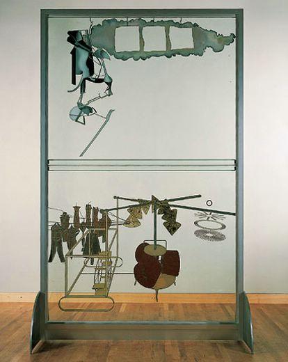 Le grand Verre -Marcel Duchamp - Philadelphie Museum
