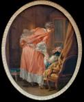 F.Boucher, The Spoilt Child / Paint.