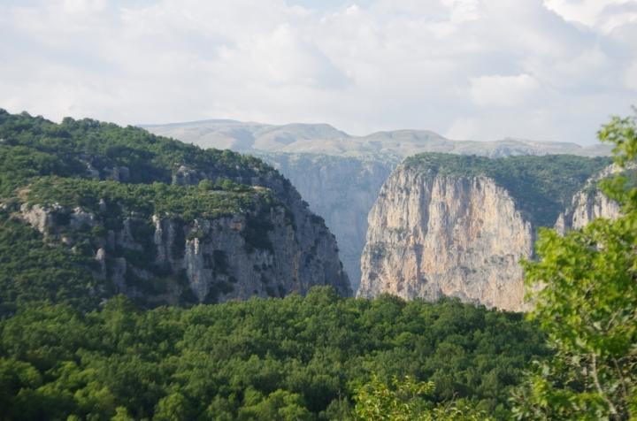 Vue de Monodendri Zagoria