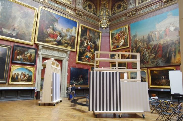 Daniel Buren - Musée de Picardie