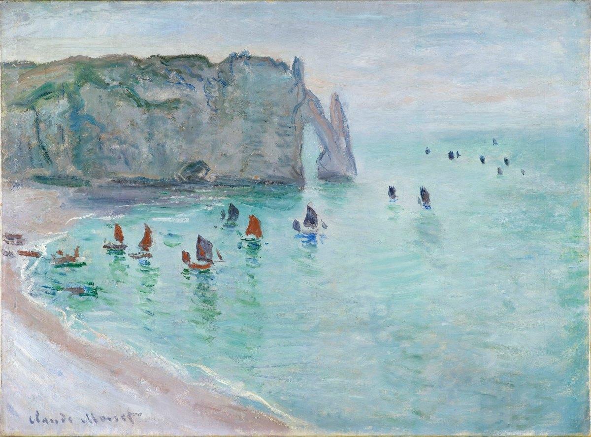 L'atelier en plein air: les Impressionnistes en Normandie - Une belle découverte au Musée Jacquemart André