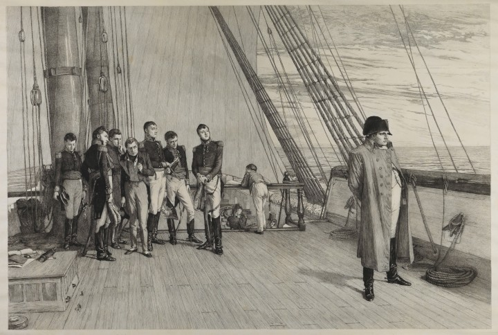 PAJ2766, 'Napoleon on board 'Bellerophon'', after William Quiller Orchardson, Louis John, Steele, 1885.