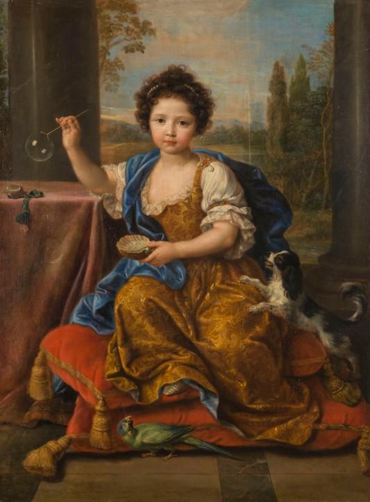 Mignard Pierre (1612-1695). Versailles, châteaux de Versailles et de Trianon. MV3624.