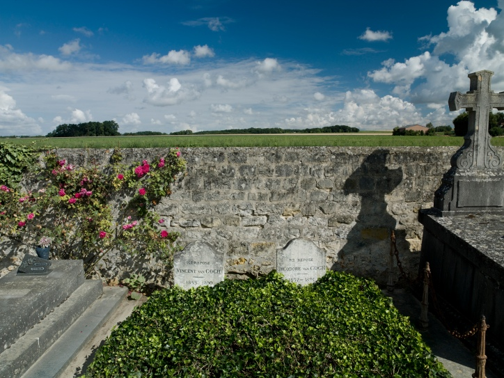 Deces-089-Tombes Van Gogh couleur