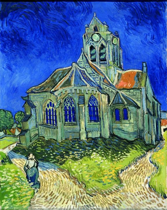 Eglise Auvers - F789-RMN-00-028593