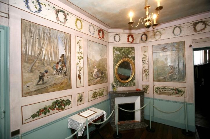 Maison-Atelier de Daubigny-Chambre_vueMiroir_1000x667_300dpi-©D&M. Raskin