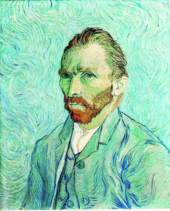 VanGogh-Auto portrait bleu
