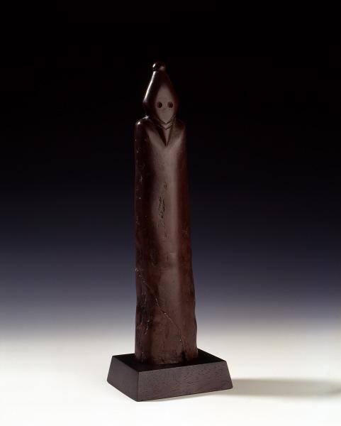 Statue d'homme barbu