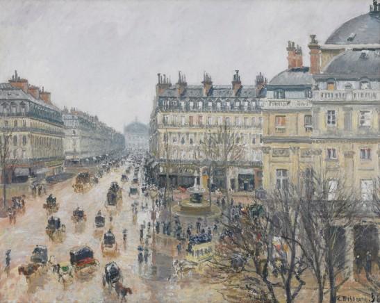 22_pissarro_la_place_du_theatre_francais_et_l_avenue_de_l_opera_effet_de_pluie