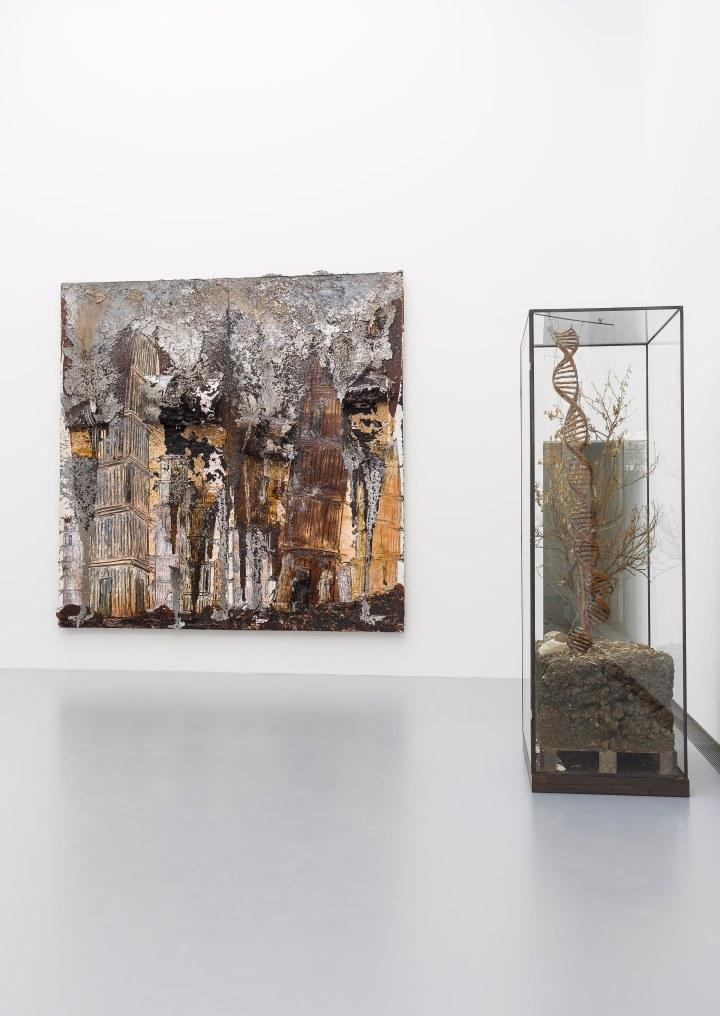 exposition KIEFER RODIN au musee Rodin