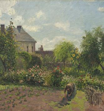 Pissarro_jardin