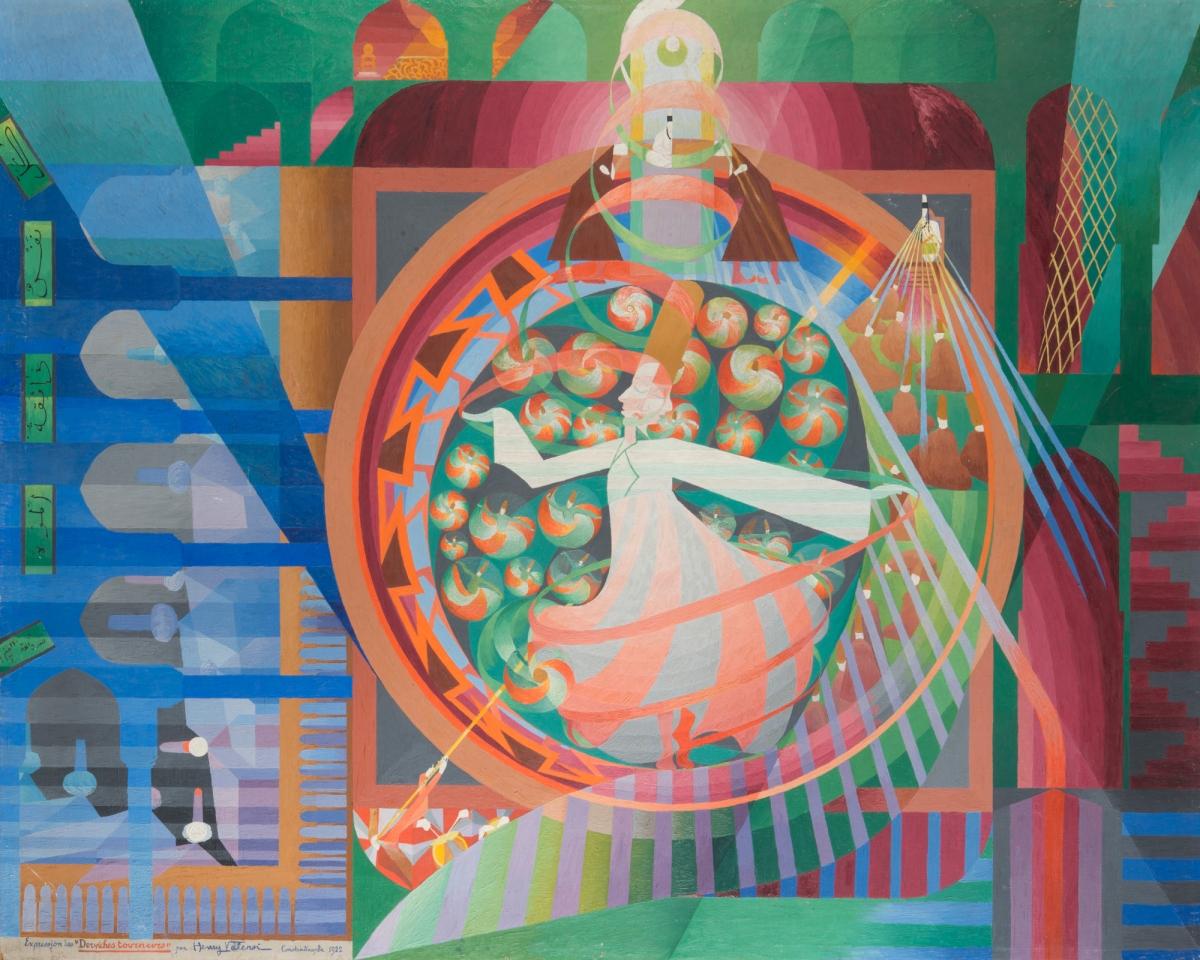 Montbéliard: Henry Valensi (1883-1960): un peintre de la modernité aux confins de l'orphisme et du futurisme