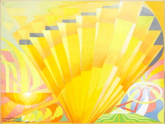 Henry Valensi-Symphonie en jaune