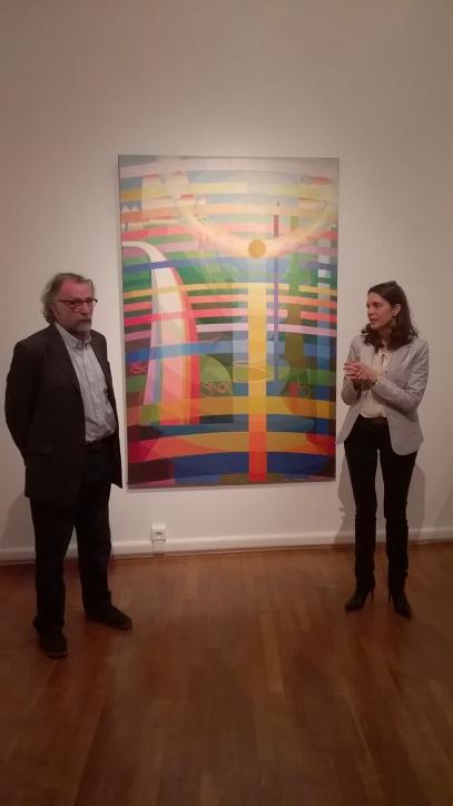 Neveu d'H. Valensi et commissaire de l'exposition