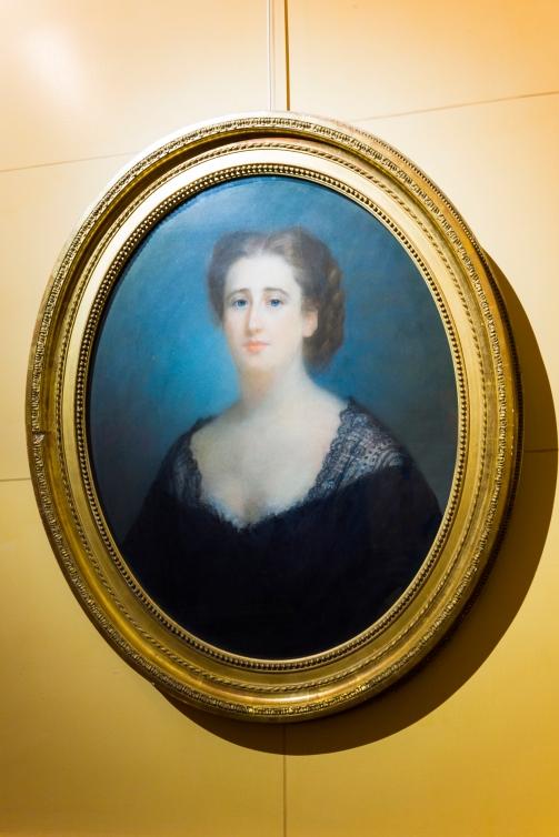 Escot, Portrait de la baronne de Rothschild -® Barnab+® Moinard_FNAGP