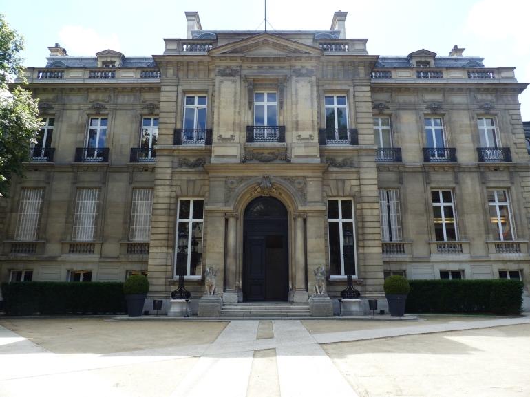 Fa+ºade sur cour de l'H+¦tel Salomon de Rothschild -® FNAGP (4)