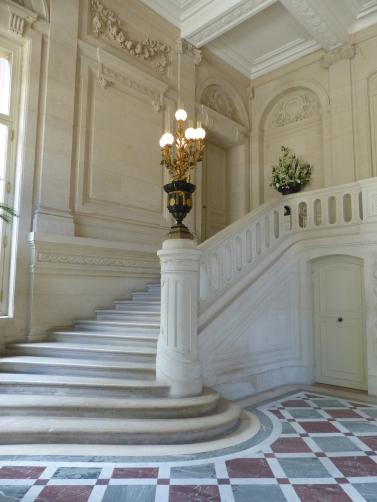 Vestibule de l'H+¦tel Salomon de Rothschild -® FNAGP