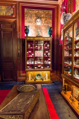 Vue de l'int+®rieur du cabinet de curiosit+®s de l'H+¦tel Salomon de Rothschild -® Barnab+® Moinard_FNAGP (5)