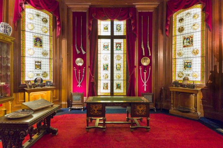 Vue de l'int+®rieur du cabinet de curiosit+®s de l'H+¦tel Salomon de Rothschild -® Barnab+® Moinard_FNAGP (7)