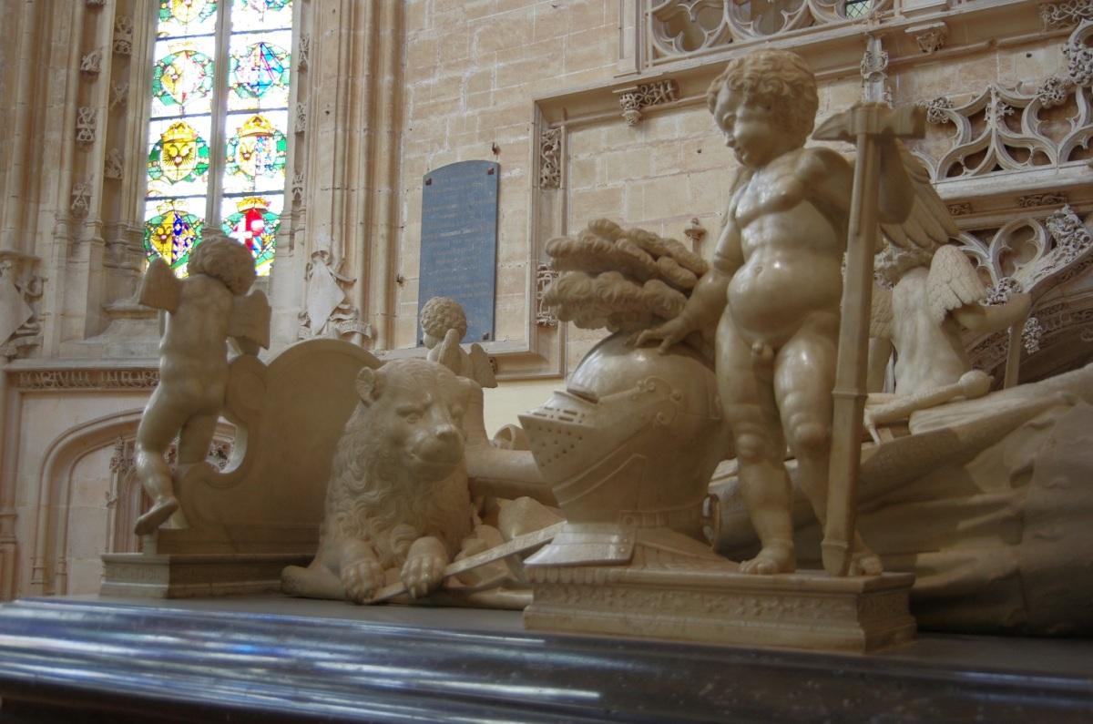 Le monastère royal de Brou à Bourg en Bresse: entre amour et volonté politique