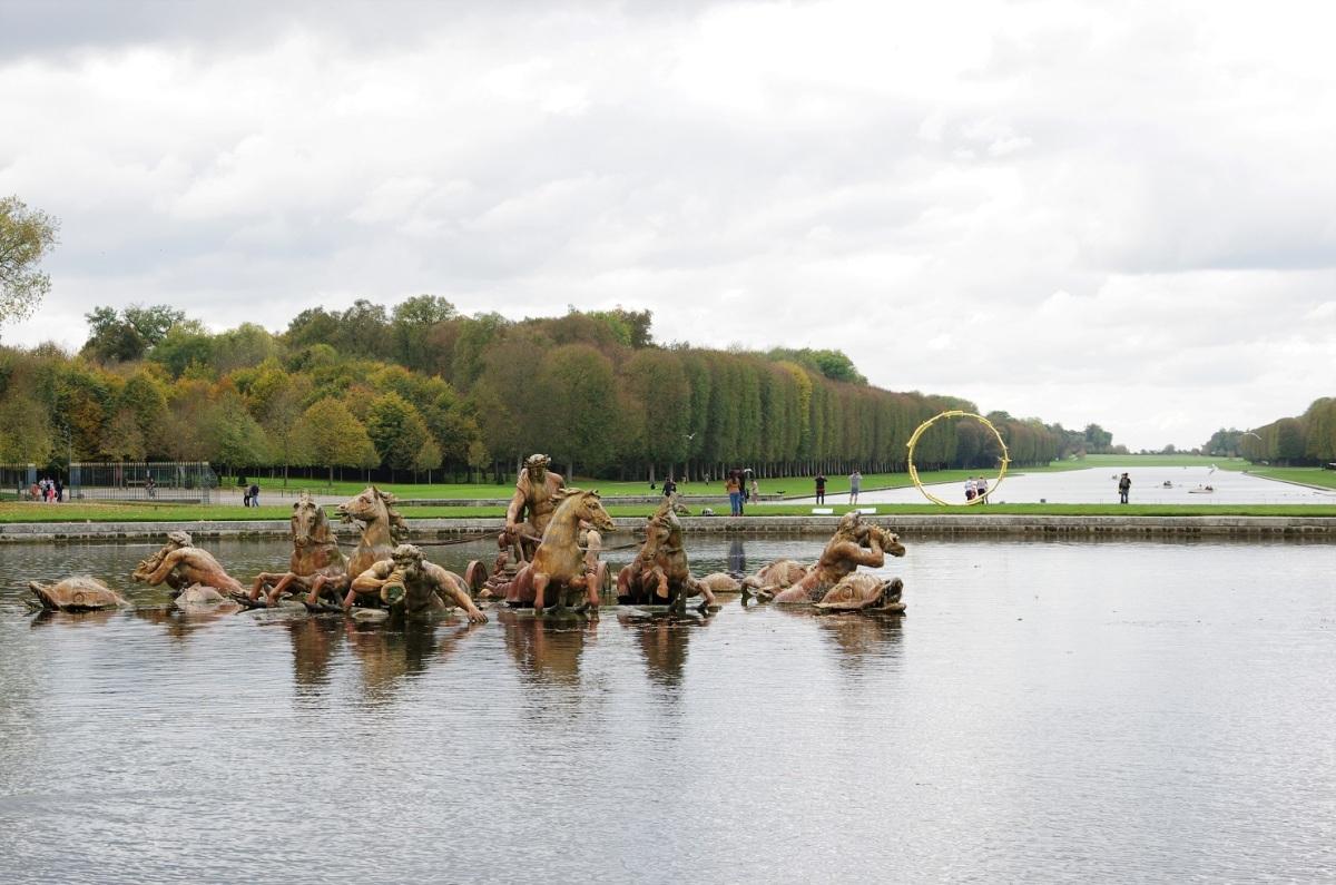 Voyage d'hiver: 17 artistes contemporains dans les bosquets du château de Versailles