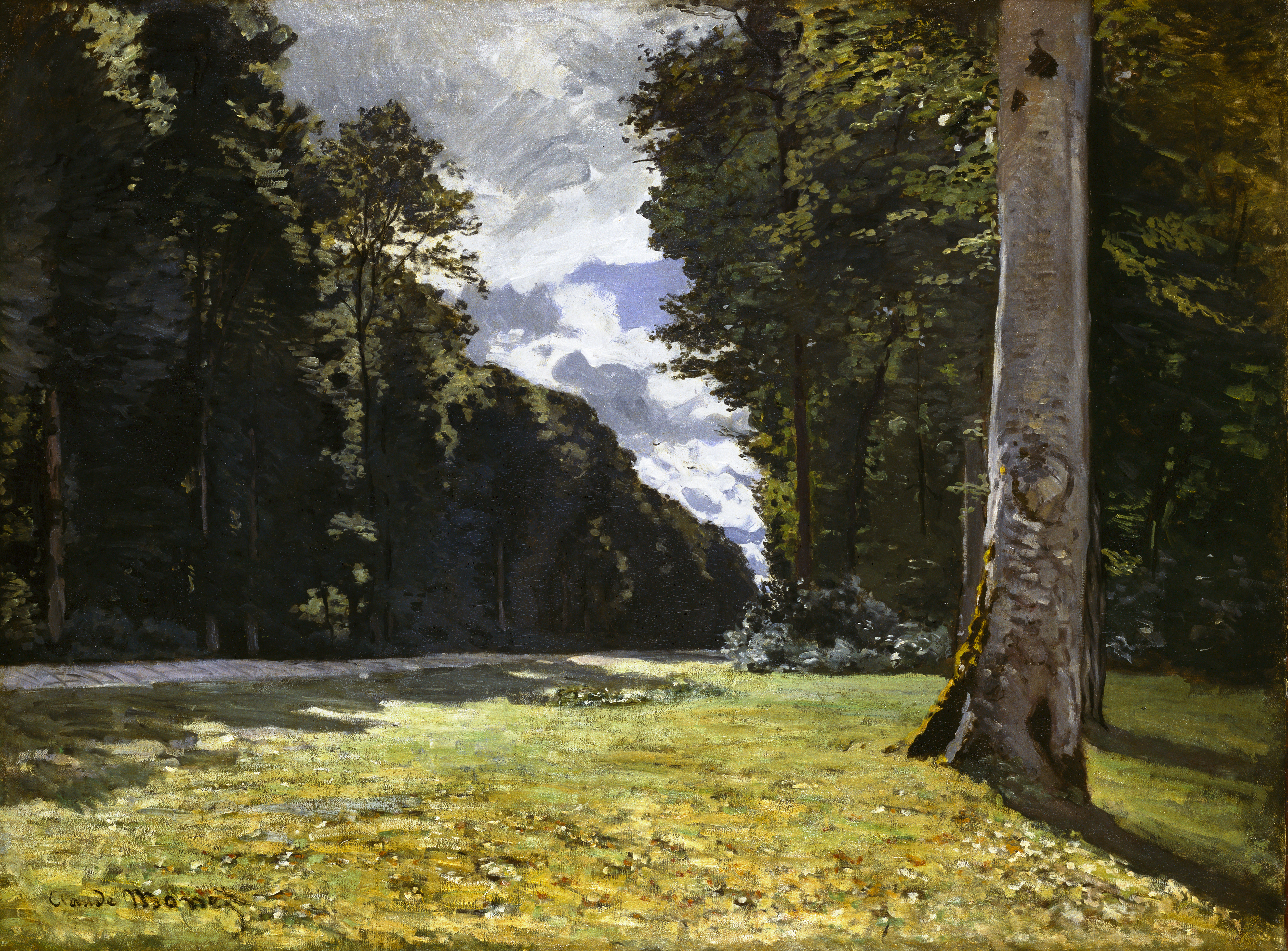 Monet Chailly-Fontainebleau 1865 Inv 250 WH.jpg