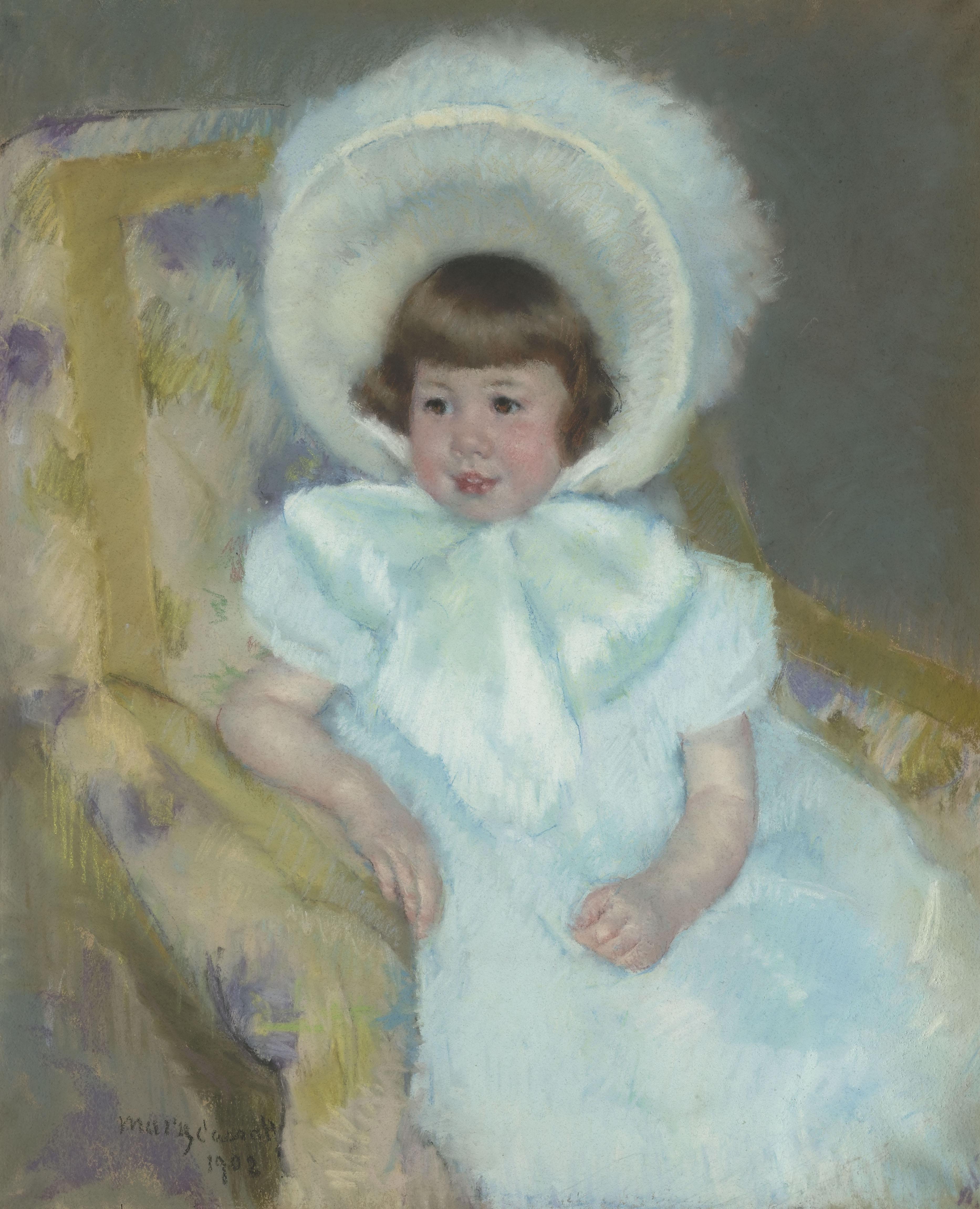 Portrait de Louise-Aurore Villeboeuf enfant