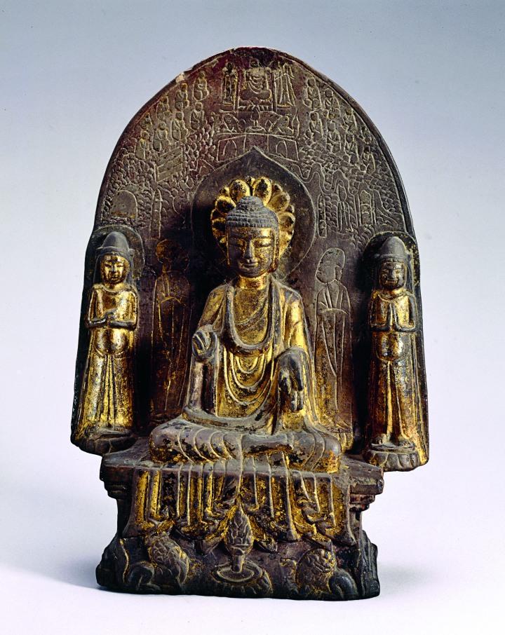 Statuette bouddhique