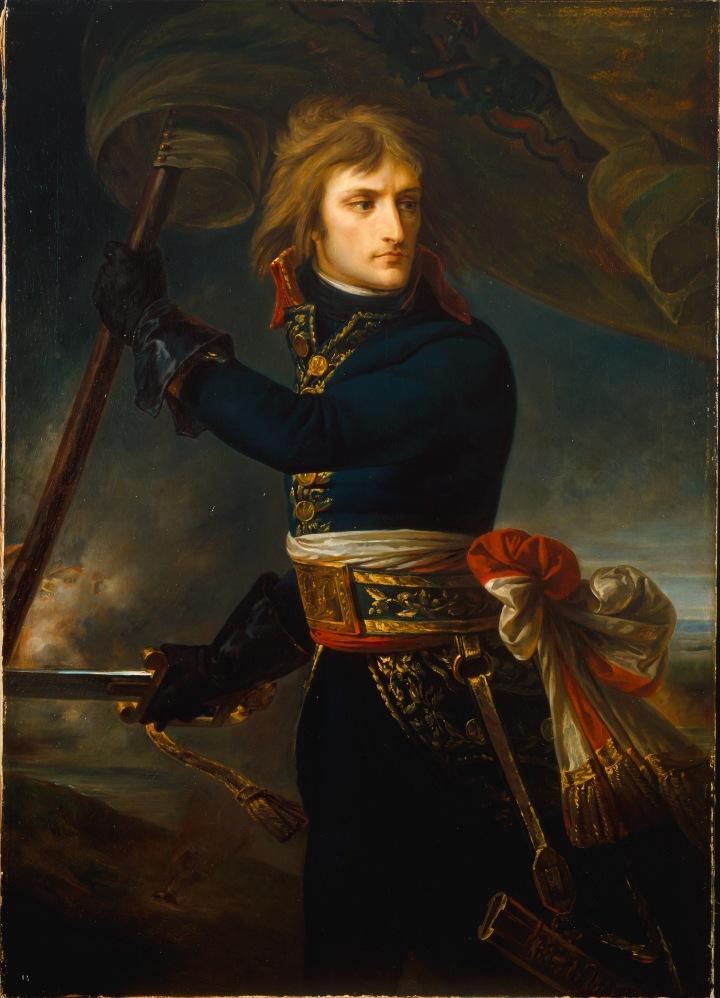 Le général Bonaparte sur le pont d?Arcole