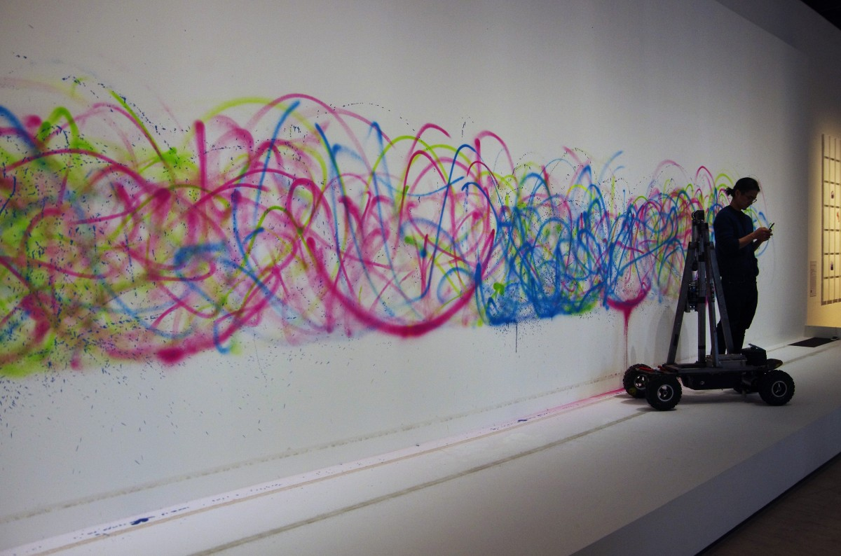 """Artistes & Robots au Grand Palais... """"Désormais, l'artiste ne crée plus une oeuvre, il crée la création."""" Nicolas Schöffer"""