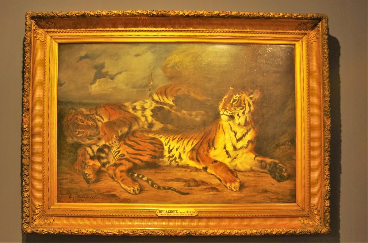 Delacroix à l'assaut du Louvre!
