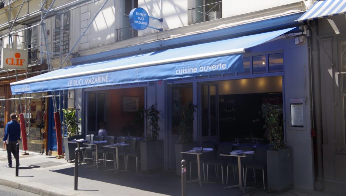 Une escale bistronomique au BBM, Bistrot Buci Mazarine