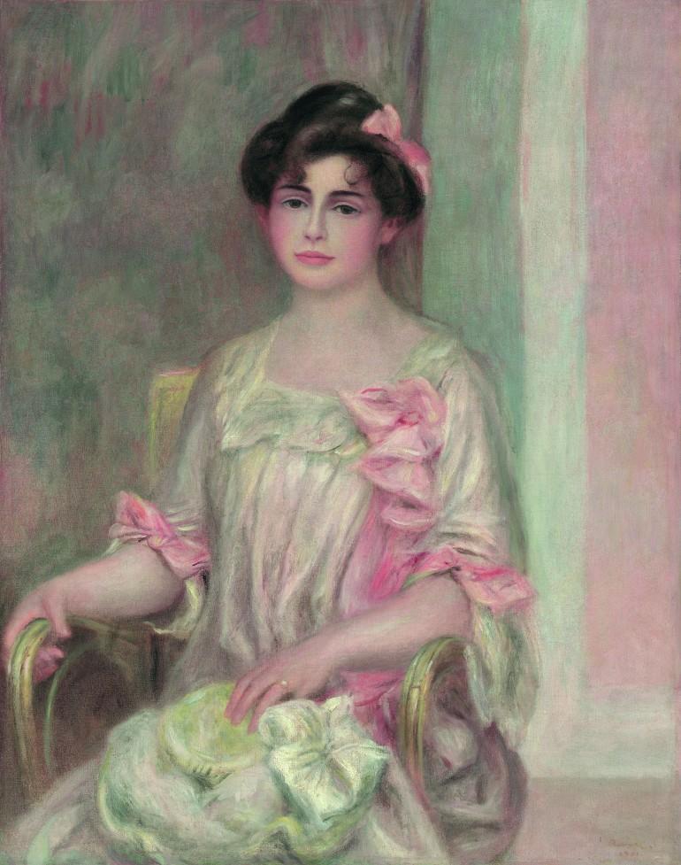 Renoir - Portrait de Madame Josse Bernheim-Dauberville ( née Mathilde Adler) _ 1enviedailleurs.com