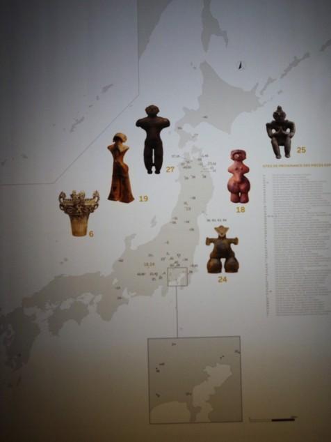 carte du Japon_Jomon_1enviedailleurs.com