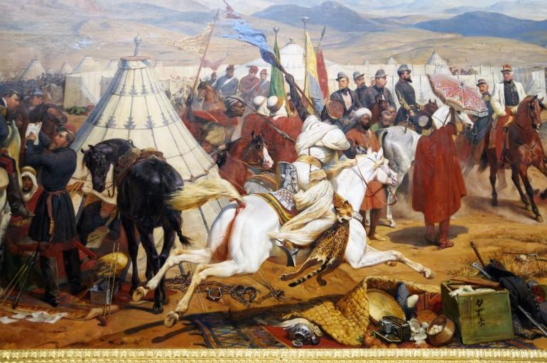 La bataille d'Isly - 14 août 1844