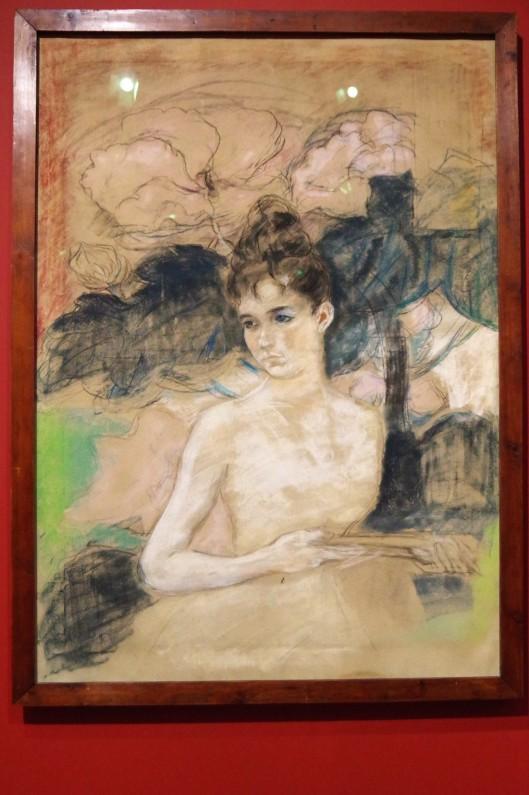 Louise Claudel_1887_par Camille Claudel_pastel sur papier