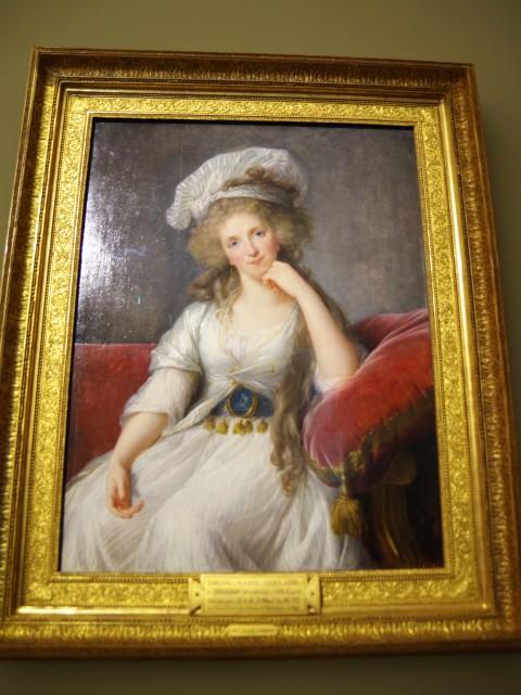 Louise Marie Adelaïde de Bourbon Penthièvre, duchesse d'Orléans (1753-1821) par Elisabeth Vigée Le Brun