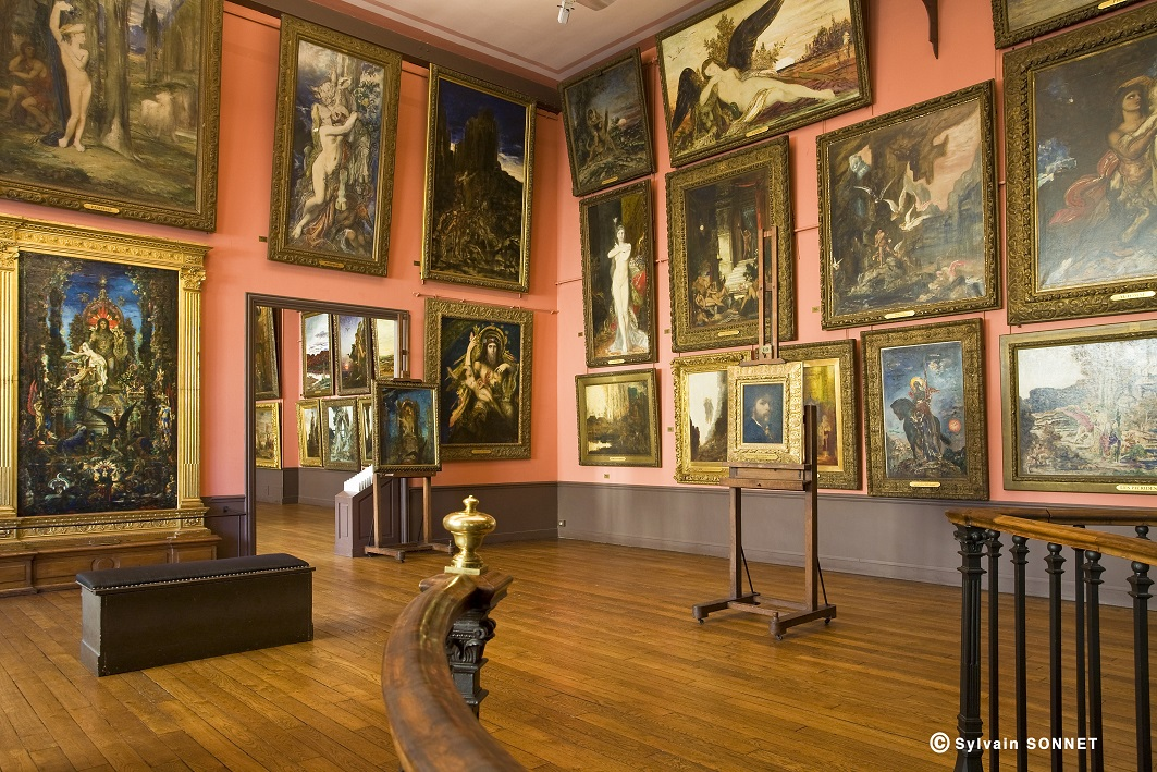 MUSEE GUSTAVE MOREAU, PARIS 9, FRANCE