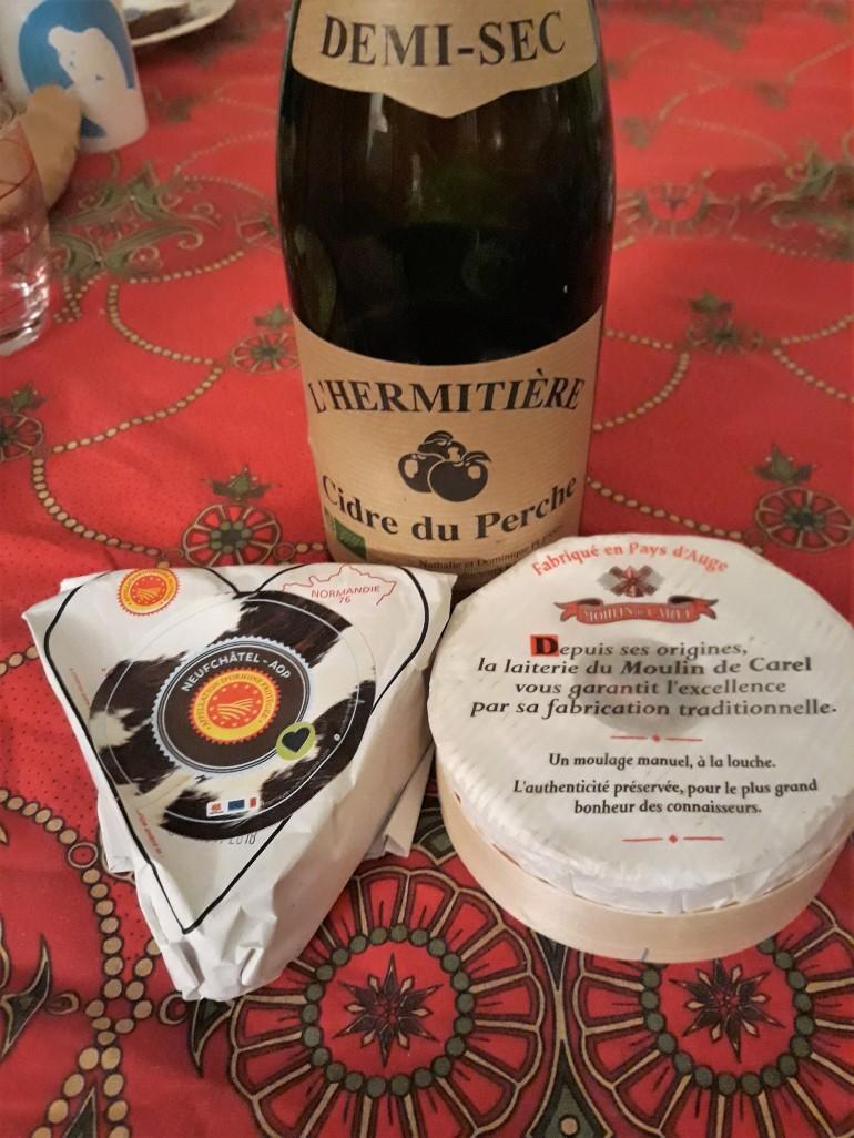 Neufchâtel, camembert et cidre_1enviedailleurs.com