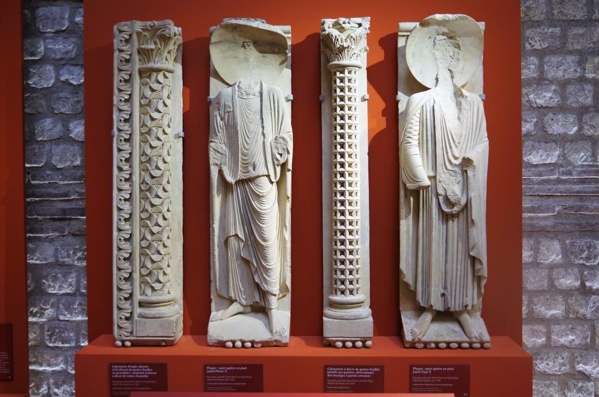 Redécouvrir la naissance de la sculpture gothique à Saint Denis, Paris et Chartres 1135-1150 au musée de Cluny.