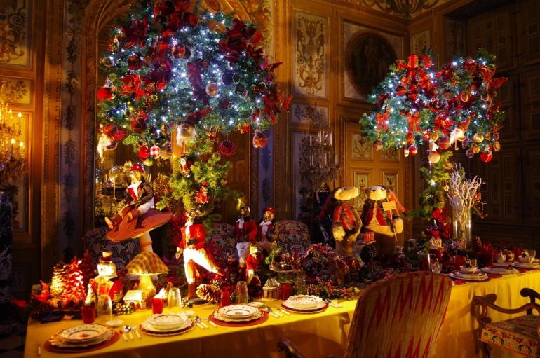 vaux le vicomte_décorations de tablea_1enviedailleurs.com